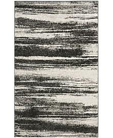 "Safavieh Retro Dark Gray and Light Gray 8'9"" x 12' Area Rug"