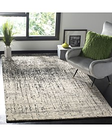 "Safavieh Retro Black and Gray 8'9"" x 12' Area Rug"