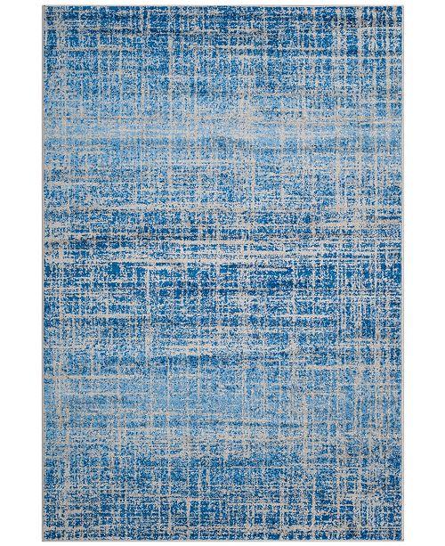 Safavieh Adirondack Blue and Silver 4' x 6' Area Rug