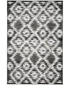 Safavieh Adirondack Charcoal and Ivory 6' x 9' Area Rug