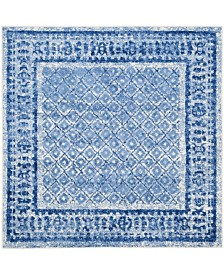 Safavieh Adirondack Silver and Blue 8' x 8' Square Area Rug
