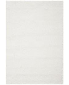 Safavieh Santa Monica Shag White 4' X 6' Area Rug