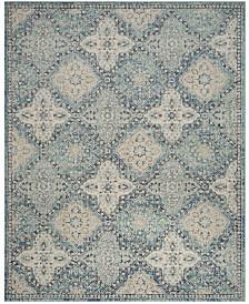 Safavieh Evoke Light Blue and Ivory 11' x 15' Area Rug
