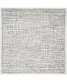 Safavieh Adirondack Silver and Ivory 10' x 10' Square Area Rug