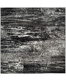 Safavieh Adirondack Silver and Black 9' x 9' Square Area Rug