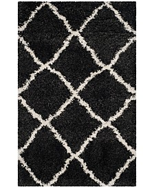 "Belize Charcoal and Ivory 2'3"" x 5' Area Rug"