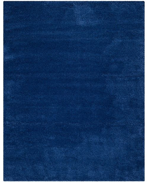 Safavieh Shag Navy 11' x 16' Rectangle Area Rug