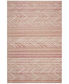 """Montage Pink and Multi 2'3"""" x 8' Runner Area Rug"""