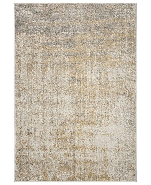 Safavieh Adirondack Creme and Gold 4' x 6' Area Rug