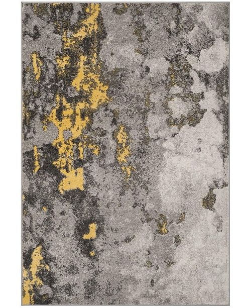 134 Gray And Yellow Area Rug Collection