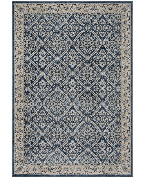 Safavieh Brentwood Navy and Creme 6' x 9' Area Rug