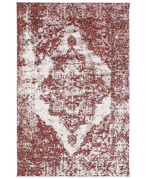 Safavieh Classic Vintage Rust and Ivory 5' x 8' Area Rug