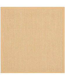 Natural Fiber Maize and Wheat 9' x 9' Sisal Weave Square Area Rug