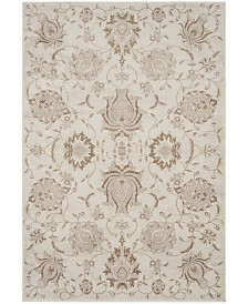 "Safavieh Vintage Cream and Camel 6'7"" x 9'2"" Area Rug"