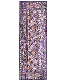 Sutton Lavender and Ivory 3' x 10' Area Rug