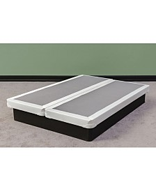 "Payton Fully Assembled Long Lasting 4"" Split Box Spring for Mattress, Queen"