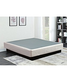"8"" Assembled Wood Box Spring/Foundation for Mattress, Full"