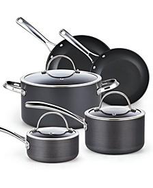 8-Piece Hard Anodized Nonstick Cookware Set