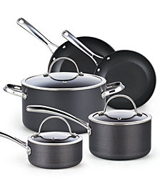 Cooks Standard 8-Piece Hard Anodized Nonstick Cookware Set