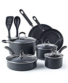 Cook N Home 12-Piece Nonstick Hard Anodized Cookware Set