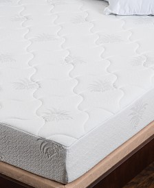 "Om Aloe 8"" Medium Firm Mattress - Queen, Quick Ship, Mattress in a Box"