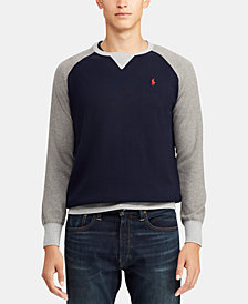 Polo Ralph Lauren Men's Colorblocked Cotton Sweater