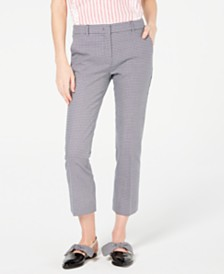 Weekend Max Mara Sabato Cropped Straight-Leg Pants