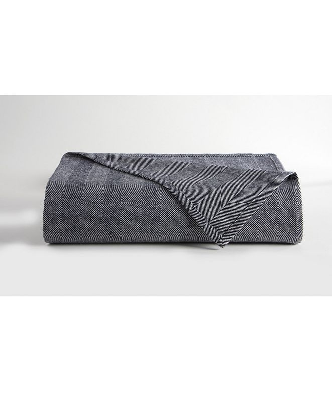 DownTown Company Herringbone Blanket, King
