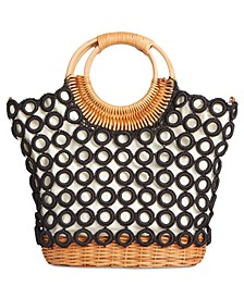 INC Crochet Multi Circles Crossbody, Created for Macy's
