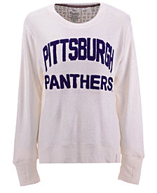 Pressbox Women's Pittsburgh Panthers Cuddle Knit Sweatshirt