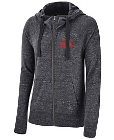 Nike Women's Ohio State Buckeyes Gym Vintage Full-Zip Hoodie