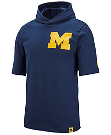 Jordan Men's Michigan Wolverines Short Sleeve Shooter T-Shirt