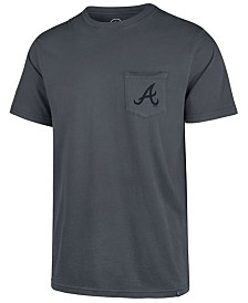 '47 Brand Men's Atlanta Braves Hudson Pocket T-Shirt