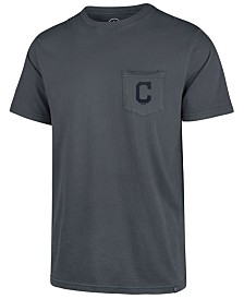 '47 Brand Men's Cleveland Indians Hudson Pocket T-Shirt