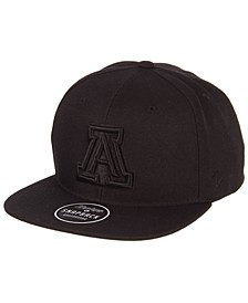 Arizona Wildcats Z11 Black on Black Snapback Cap