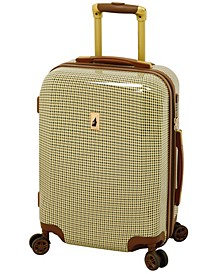 """Cambridge 20"""" Expandable Hardside Carry-On Spinner Suitcase"""