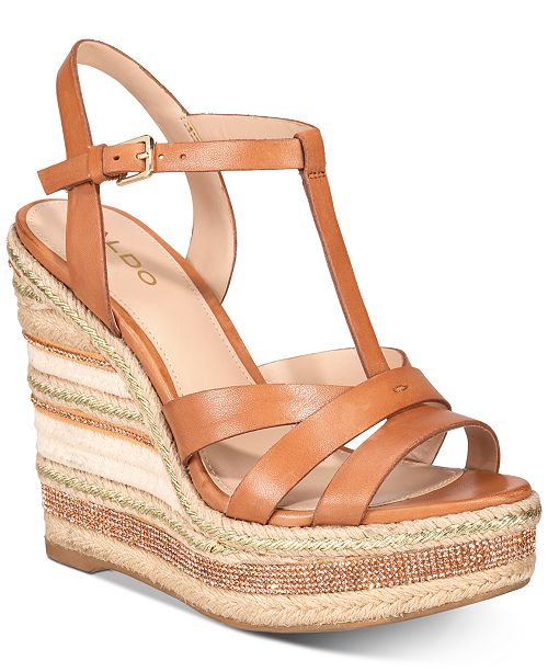 ALDO Nydaycia Wedge Sandals   Reviews - Sandals   Flip Flops - Shoes ...