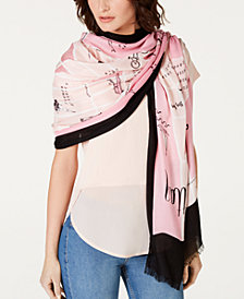 kate spade new york Manhattan Map Oblong Scarf