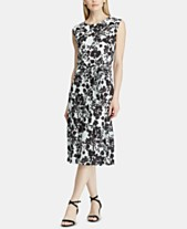 de866dca90d36 Lauren Ralph Lauren Floral-Print Fit   Flare Dress