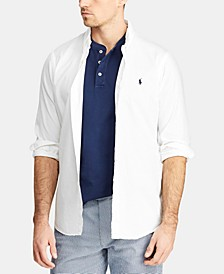 Men's Big & Tall Classic Fit Twill  Shirt