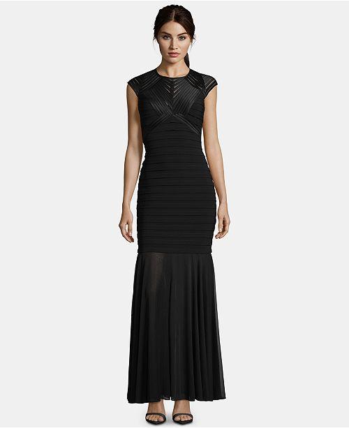 Critiques dos Robe Noir Robes ouvert a BetsyAdam Femme Illusion RA5L4j