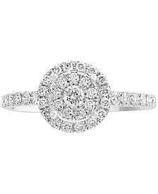 EFFY® Diamond Ring (1/2 ct. t.w.) in 14k White Gold