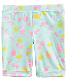 Epic Threads Toddler Girls Printed Bermuda Shorts, Created for Macy's
