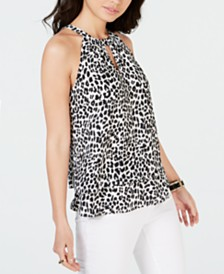 Thalia Sodi Printed Halter Top, Created for Macy's