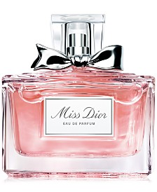 Receive a Free Miss Dior Eau de Parfum Deluxe Mini with any large spray from the Dior Women's Fragrance Collection