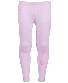 Epic Threads Big Girls Splatter-Print Leggings, Created for Macy's