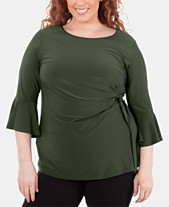 d9487487fc0e38 bell sleeve tops - Shop for and Buy bell sleeve tops Online - Macy's