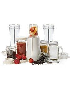 Personal Blender and Mason Jar Xl Set