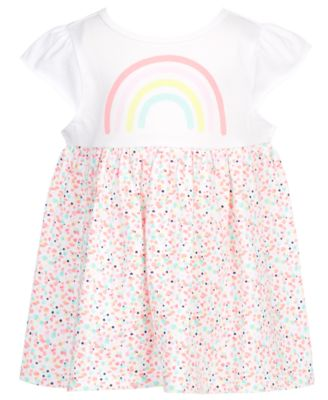 Baby Girls Rainbow Flutter Tunic, Created for Macy's