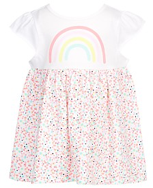 First Impressions Baby Girls Rainbow Flutter Tunic, Created for Macy's